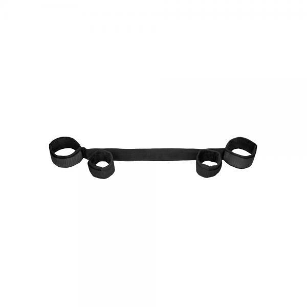 Ouch Spreader Bar With Hand And Ankle Cuffs